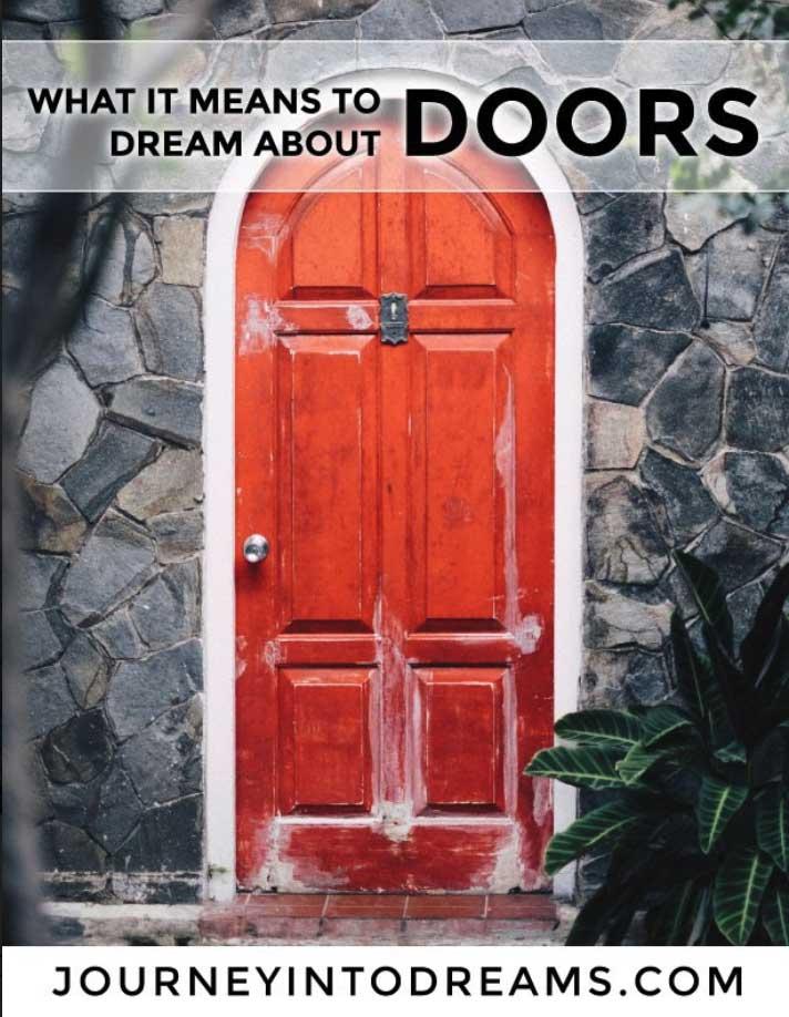 Mơ thấy cánh cửa có ý nghĩa gì?