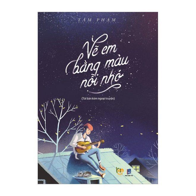 Review sách truyện vẽ em bằng màu nỗi nhớ tác giả Tâm Phạm