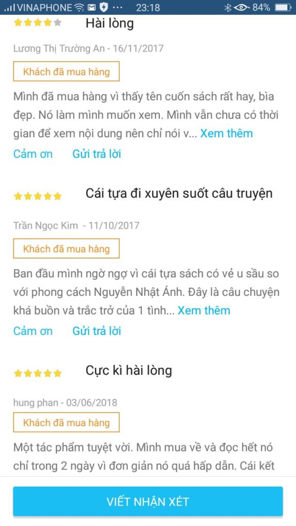 Review sách Ngồi khóc bên trên cây – Nguyễn Nhật Ánh